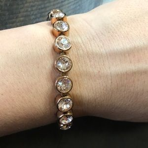 Swarovski Elements Rose Gold Bracelet